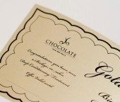 Print design for Chocolate Hair Group by Darren Forde