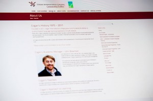 Cogan International College Web design by Darren Forde