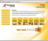 Masterlink Logistics Website Screenshot 5